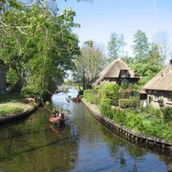 5-daagse fietsreis Giethoorn en Nationale Parken - Singletravels.nl